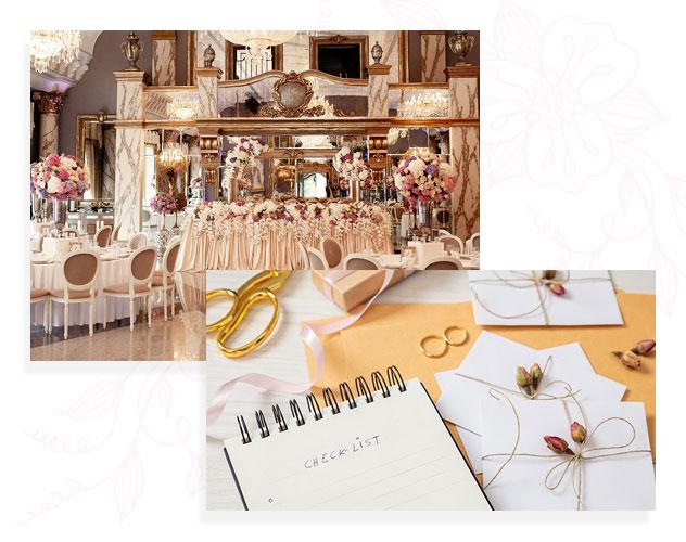 Checklist pour une décoration de salle de mariage parfaite